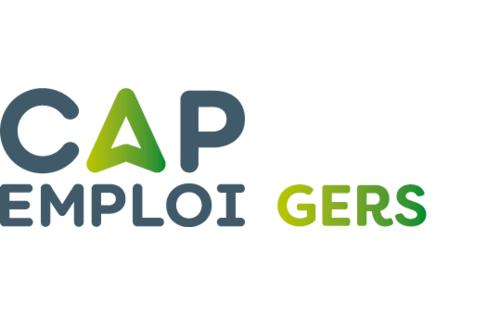 Logo Cap emploi 32 Gers, Auch (Réseau Cap emploi)